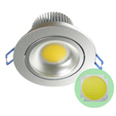 COB LED downlight 3watt white